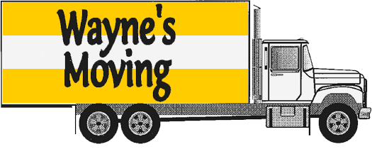 Wayne's Moving Logo